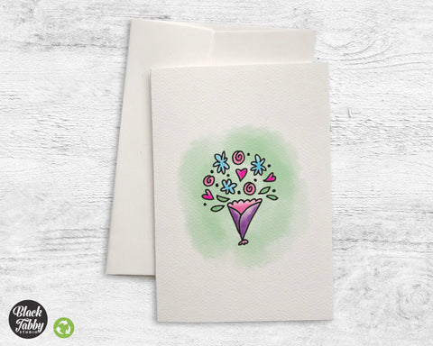 Lovely Bouquet - Greeting Cards
