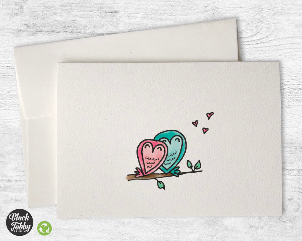 Sitting in a Tree - Greeting Cards
