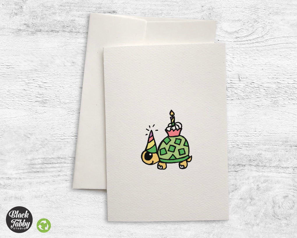 Party Turtle - Greeting Cards