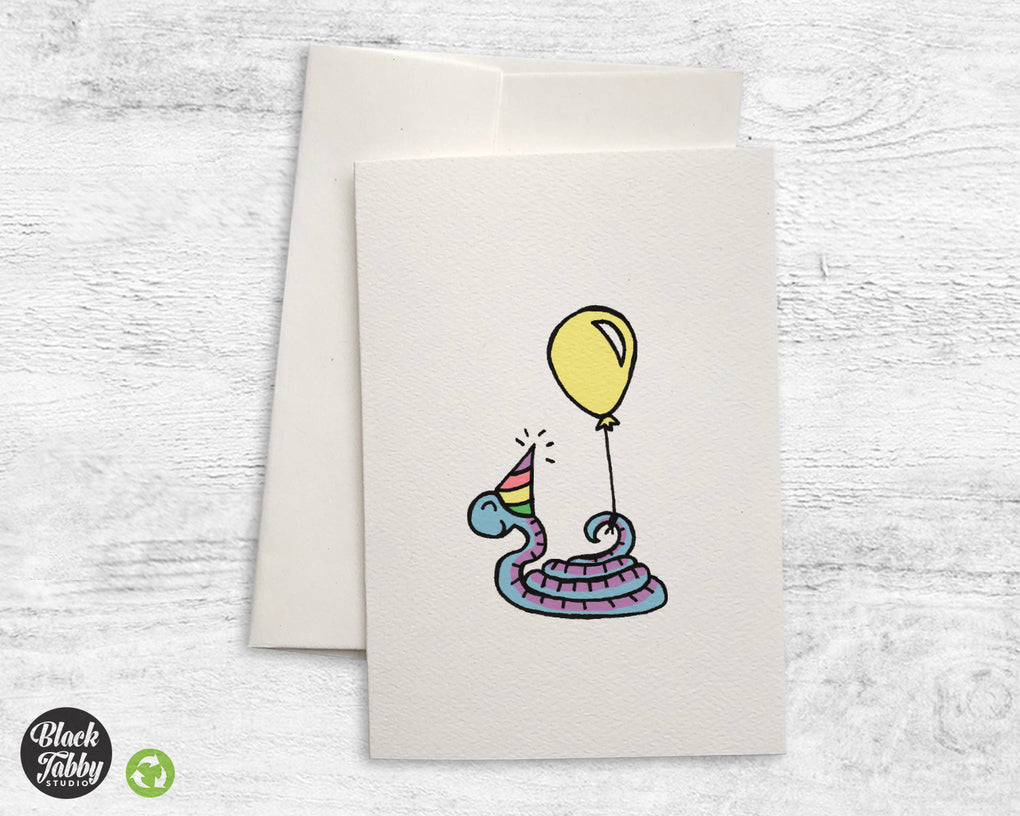 Party Snake - Greeting Cards