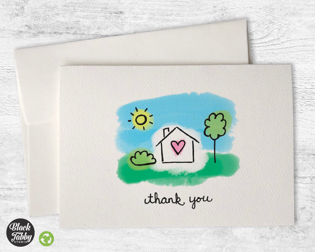 Home Sweet Home - CLEARANCE - Thank You Cards