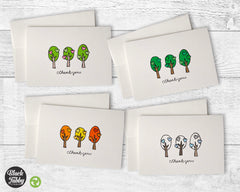 Seasonal Trees - Thank You Collection Pack