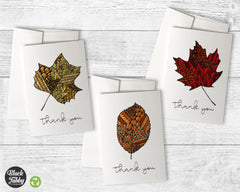 Zentangle Leaves - Thank You Collection Pack