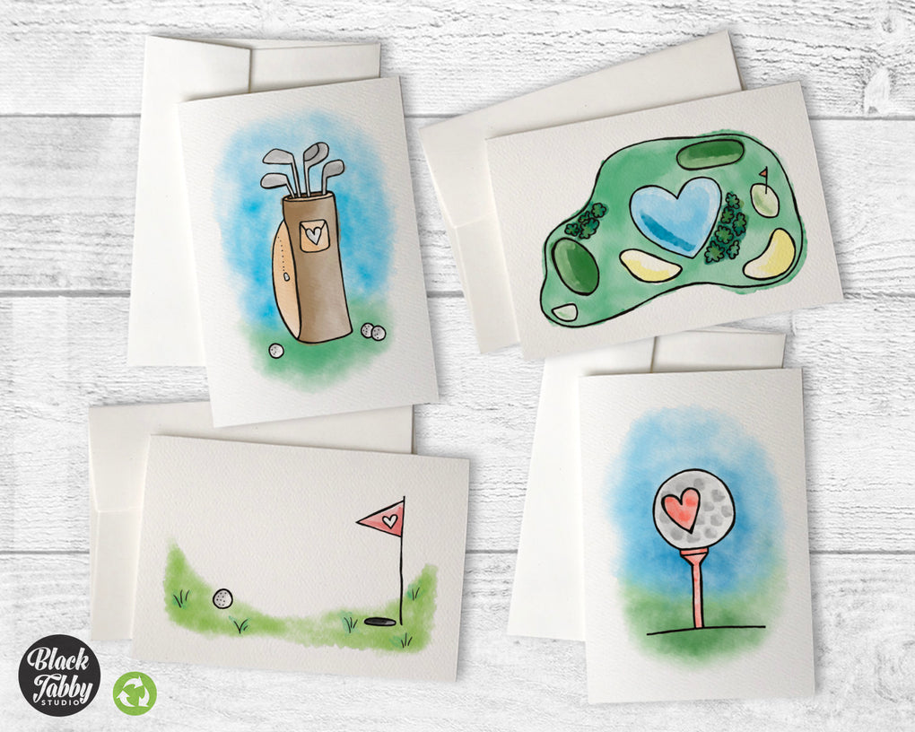 Golf Collection - Greeting Cards