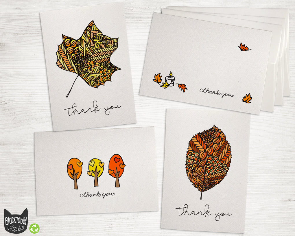 Crisp Leaves - Thank You Collection Pack