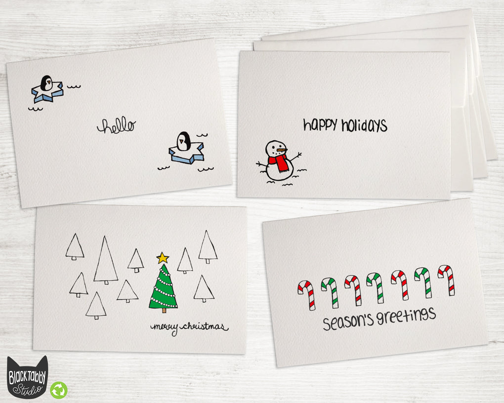 Holidays Greetings - Greeting Card Collection Pack