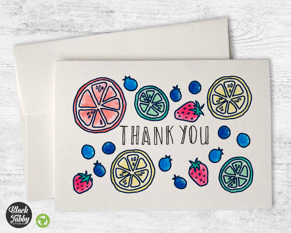 Slices of Summer - Thank You Cards