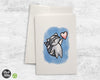 Cute Raccoon with Heart - Greeting Cards