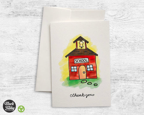 School House - Thank You Cards