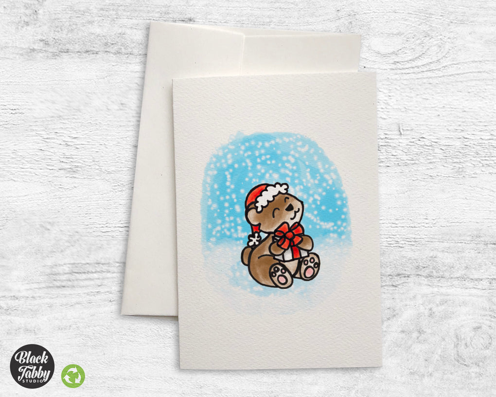 Holiday Bear - Greeting Card