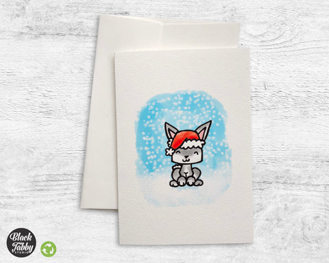 Holiday Bunny - Greeting Cards