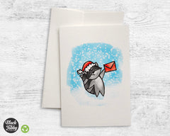 Holiday Raccoon - Greeting Cards