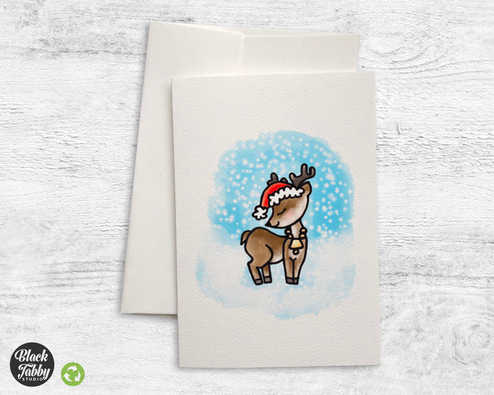 Holiday Reindeer - Greeting Cards