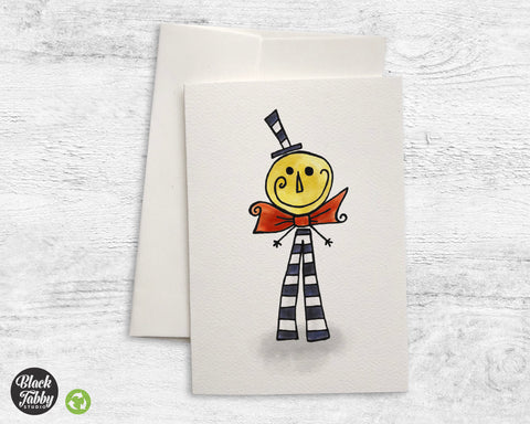 Happy Moonman - Greeting Cards