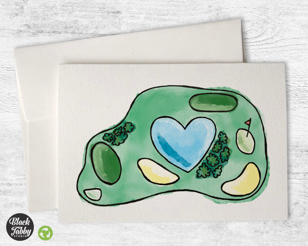 Golf Course - Greeting Cards