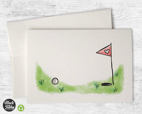 Putting Green - Greeting Cards
