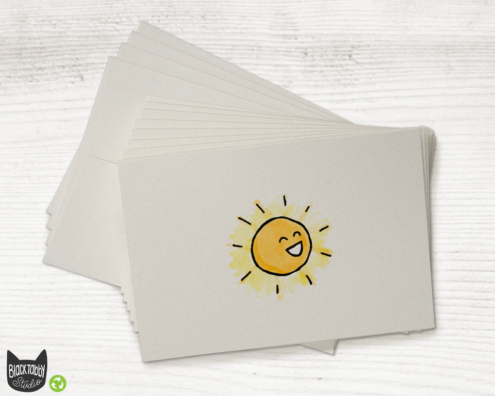 Happy Sun - Greeting Cards