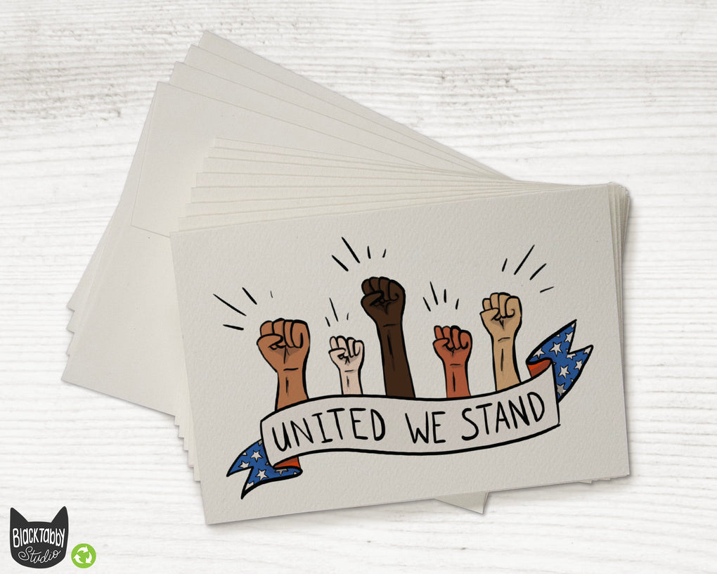 United We Stand - Greeting Cards