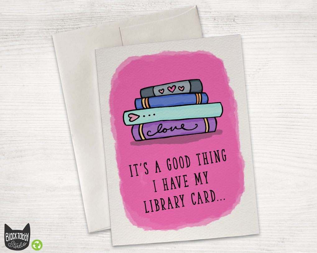 Library Love - I'm Checking You Out
