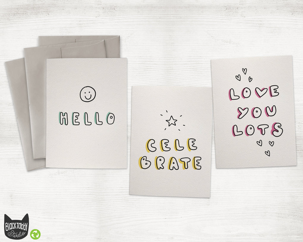 Something for Everyone - Assorted Greeting Card Set