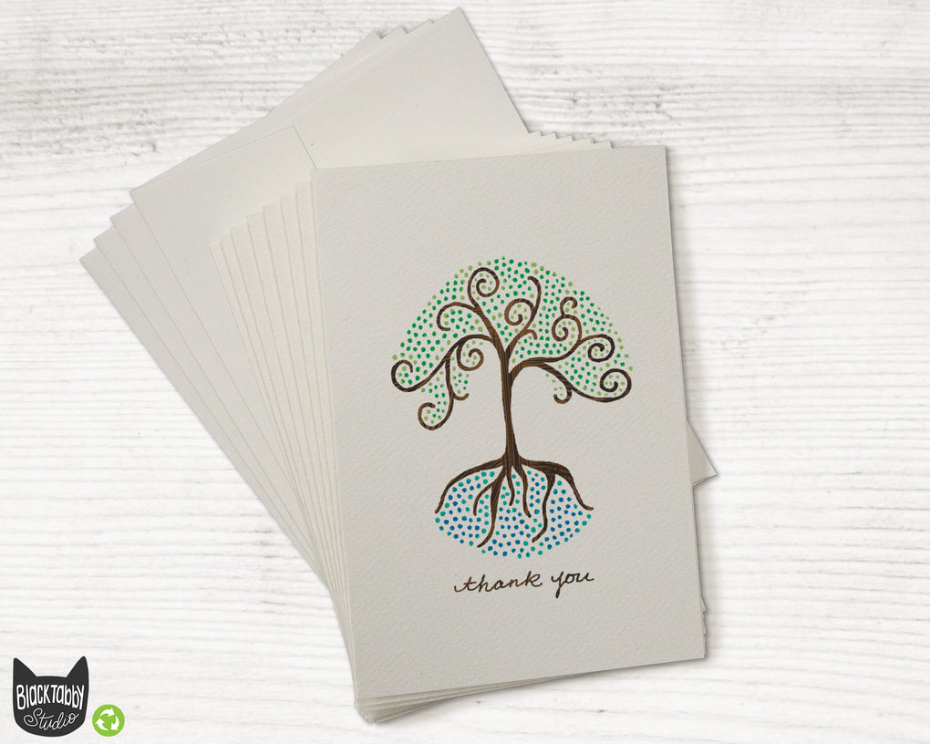 Tree of Life - CLEARANCE - Thank You Cards