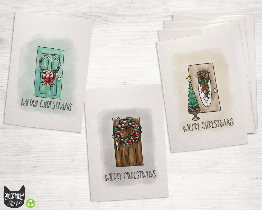 Festive Front Door - CLEARANCE - Christmas Collection Pack