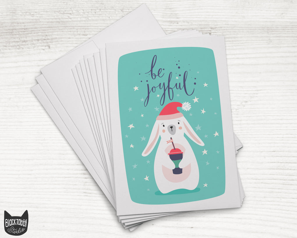 Frosty Bunny - 24 Holiday Cards