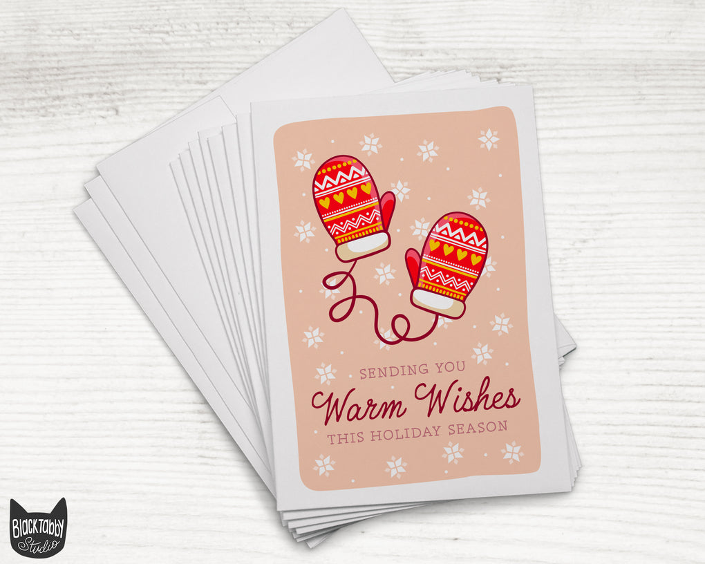 Winter Gloves - Warm Wishes
