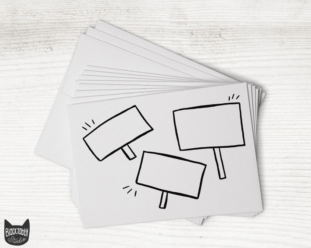 Three Signs - DIY Cards