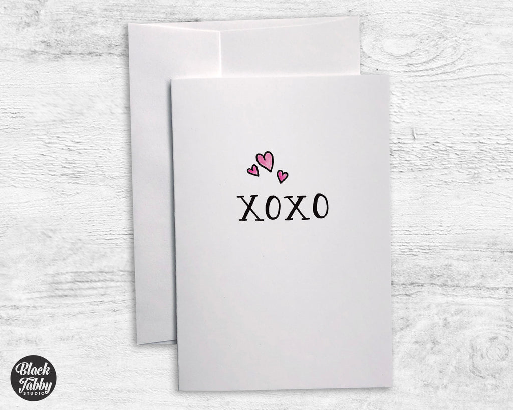 XOXO - Greeting Cards