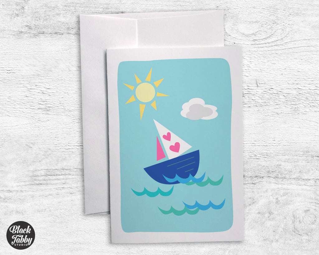 Sailboat - Greeting Cards
