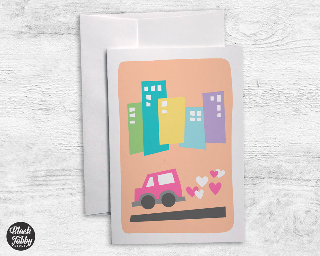 Little Car - Greeting Cards