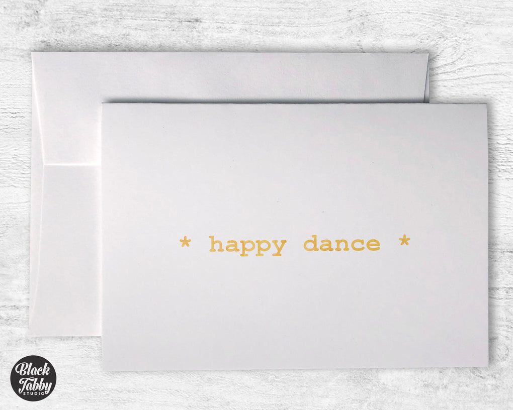 Happy Dance - Greeting Cards