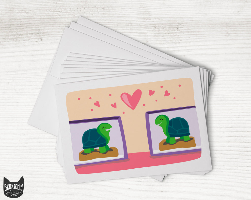 Cute Pets Social Distancing Notecards {Choose From 3 Design Options} - Greeting Cards