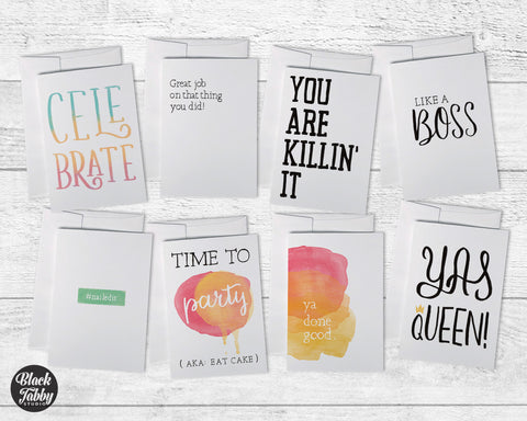 Sassy All Occasion - Congrats Cards Collection Pack