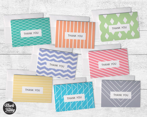 Modern Geometric - Thank You Collection Pack