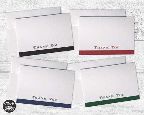 Business Formal Stripe - Thank You Collection Pack