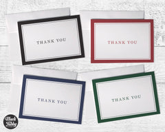 Business Formal Thick Border - Thank You Collection Pack