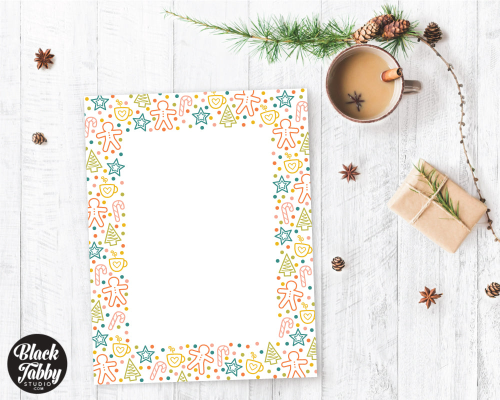 Holiday Sweets & Treats - Winter Stationery Paper