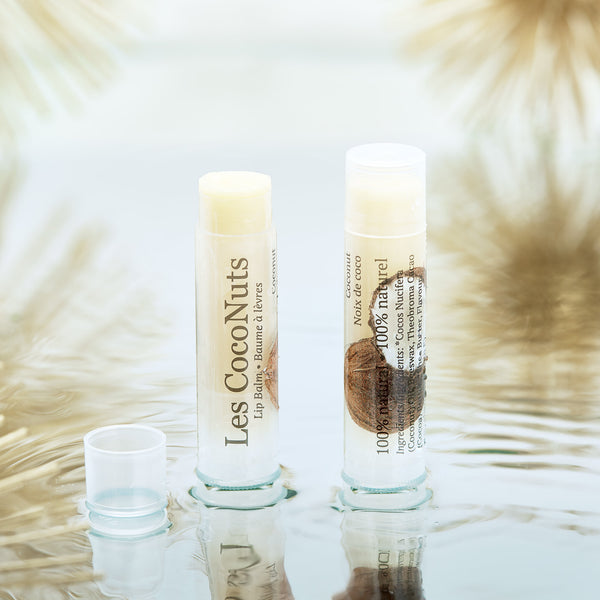 baume a levres naturel natural lip balm noix de coco coconut