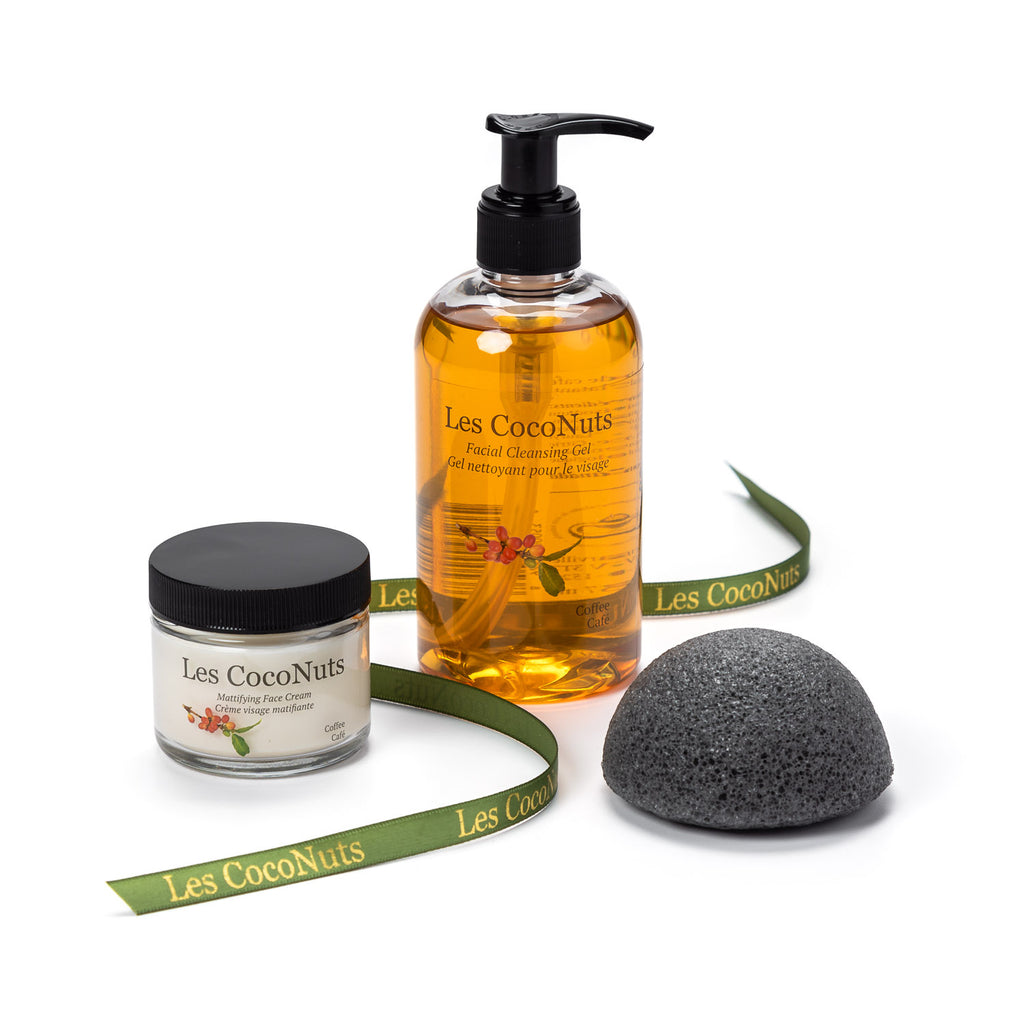 Facial Cleansing Set - Coffee