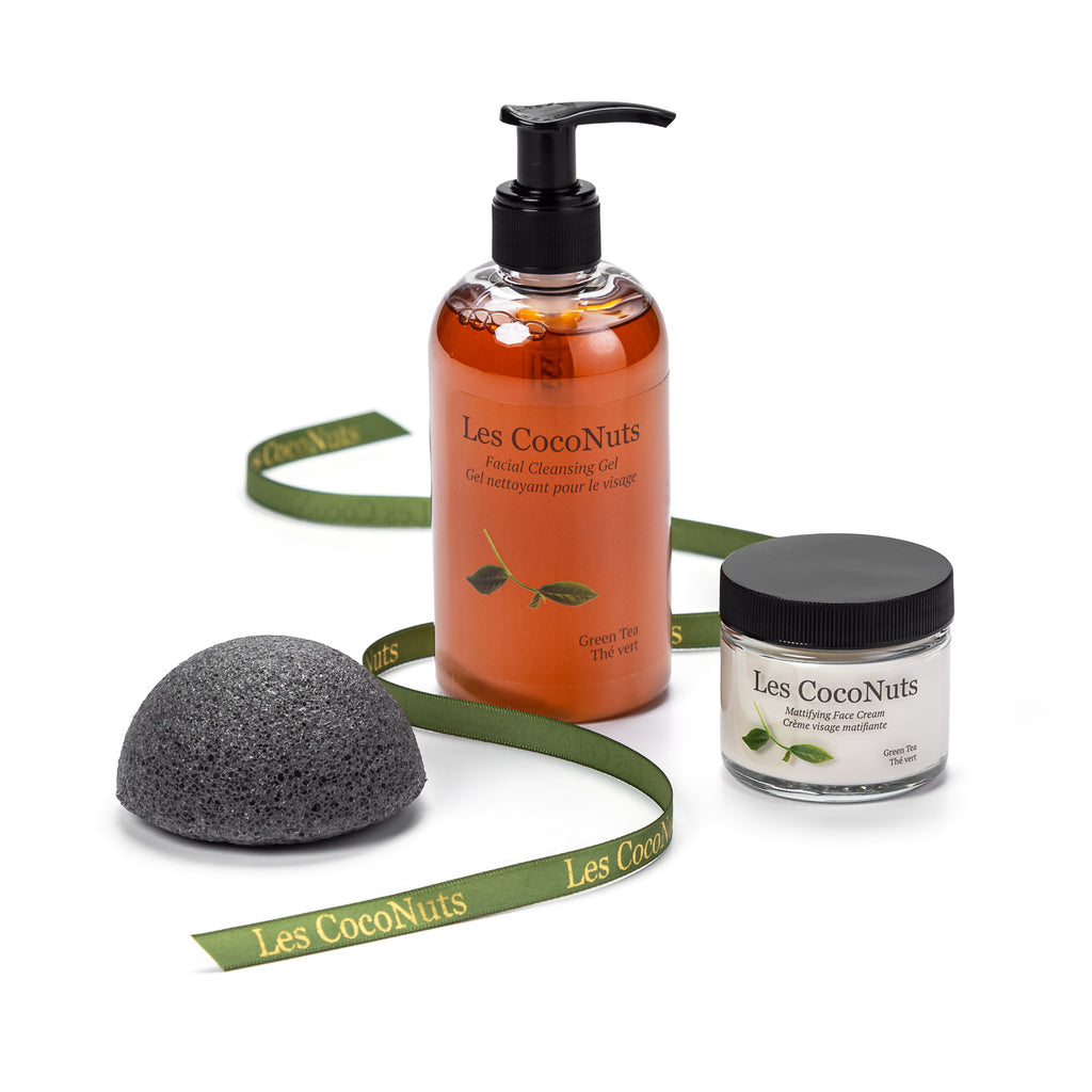 Facial Cleansing Set - Green Tea
