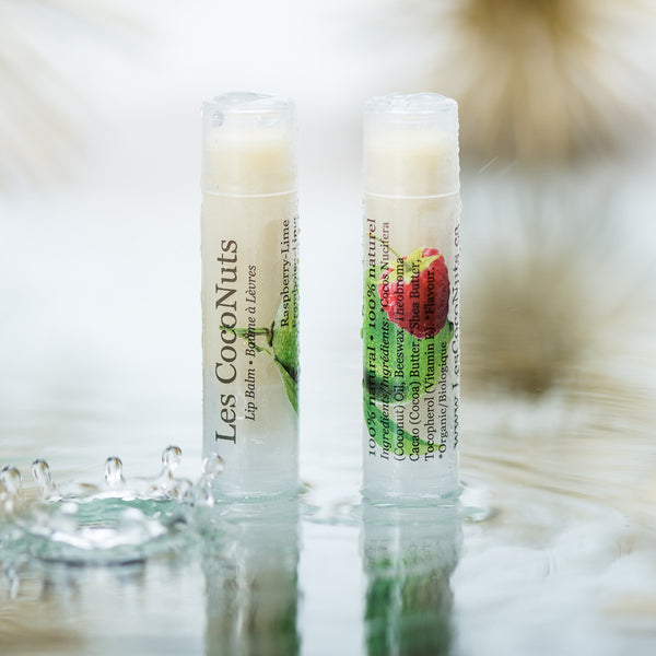 baume a levres naturel framboise lime natural lip balm raspberry lime