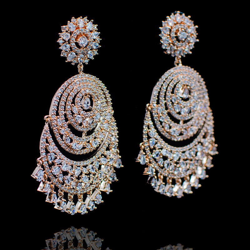 Fiona Earrings - Available in 3 Plating Options
