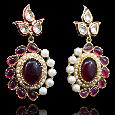 Nandini Earrings - Available in 3 Colors