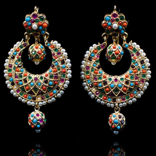 Swati Earrings - Nauratan
