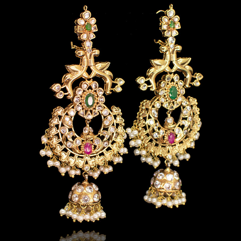 Padmal Earrings