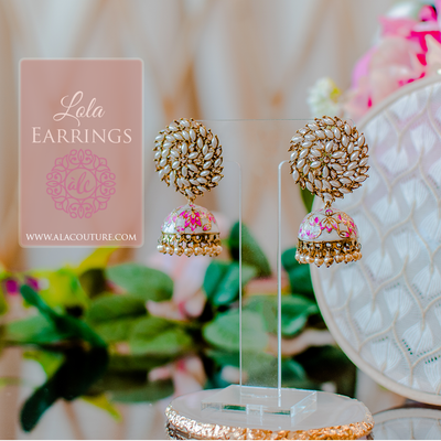 Lola Earrings - White