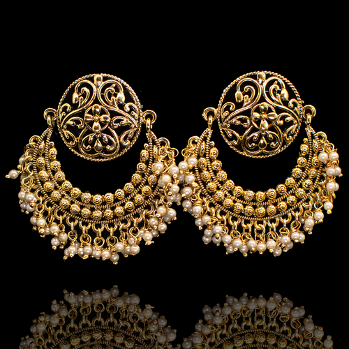 Amelia Earrings - Antique