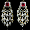 Nima Earrings - Ruby